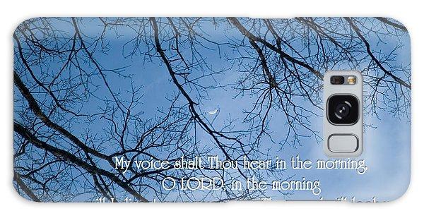 Oak Tree Psalm Galaxy Case
