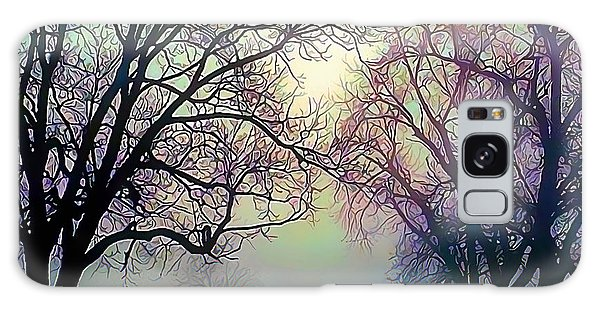 Oak Trees In The Mourning Myst Galaxy Case by Wernher Krutein