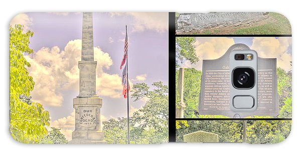 Oakland Cemetery Collage Galaxy Case