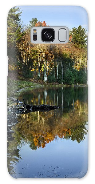 Galaxy Case featuring the photograph Oakley Corners State Forest by Christina Rollo