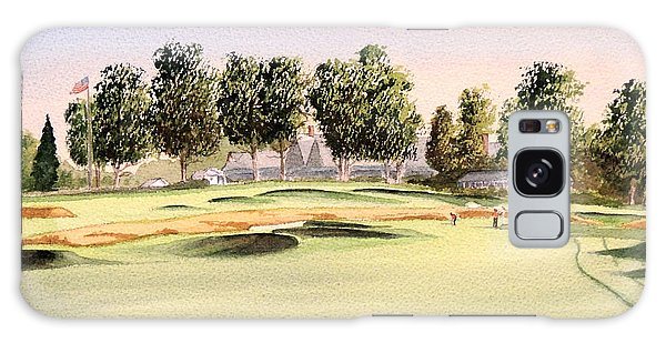 Galaxy Case featuring the painting Oakmont Golf Course 14th by Bill Holkham