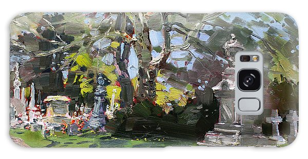 Cemetery Galaxy Case - Oakwood Cemetery by Ylli Haruni