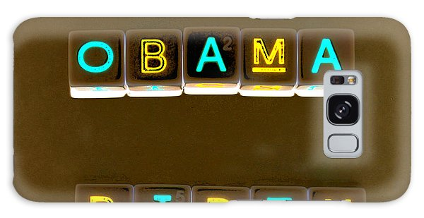 Obama Biden Words. Galaxy Case