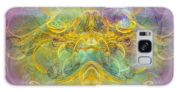 Obeisance To Nature - Spiritual Abstract Art Galaxy Case