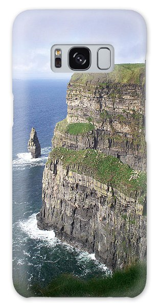 Cliffs Of Moher - O'brien's Tower Galaxy Case