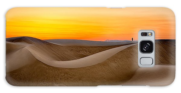 Observing Sunset At The Oceano Dunes Galaxy Case