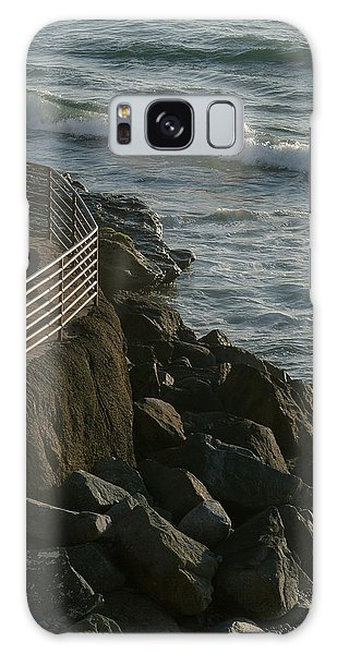 Ocean Beach Boat Ramp Galaxy Case
