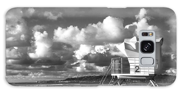 Ocean Beach Lifeguard Tower Galaxy Case