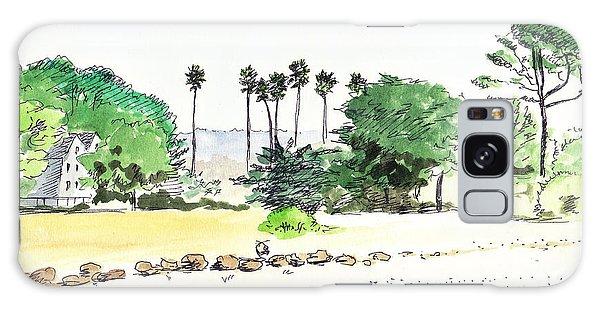 Ocean Beach Galaxy Case