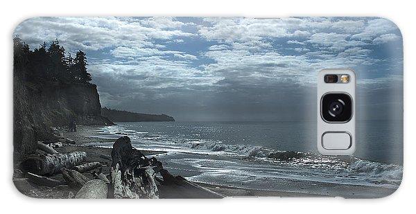 Ocean Beach Pacific Northwest Galaxy Case