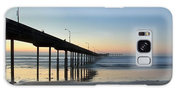 Ocean Beach Pier Galaxy Case