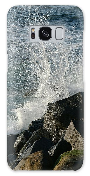 Ocean Beach Splash 2 Galaxy Case
