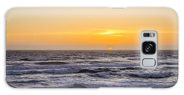 Ocean Beach Sunset Galaxy Case