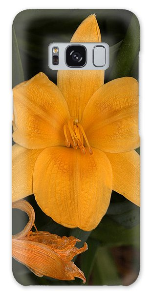 Ocean Beach Yellow Flower Galaxy Case