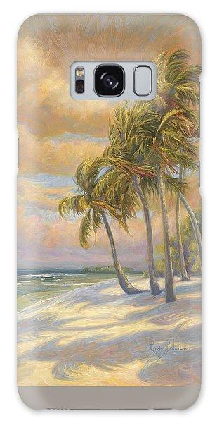 Beach Sunset Galaxy Case - Ocean Breeze by Lucie Bilodeau
