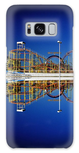 Ocean City Amusement Pier Reflections Galaxy Case