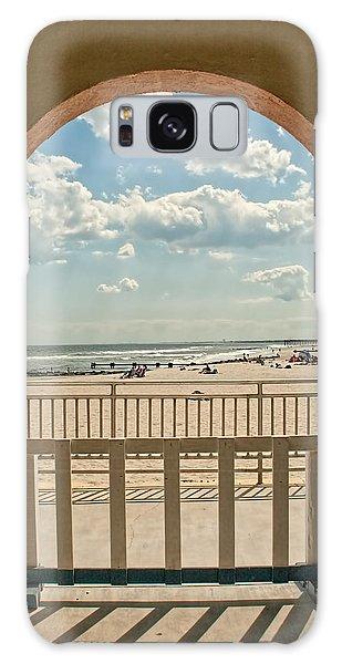 Ocean City Beach View Galaxy Case