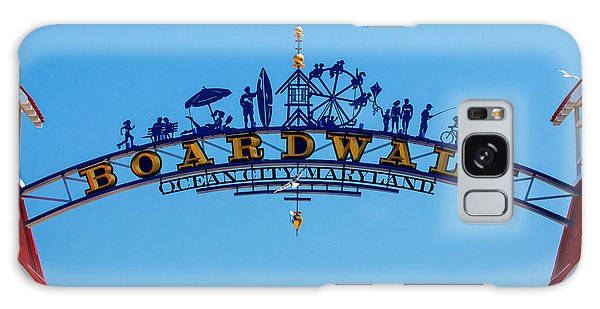 Ocean City Boardwalk Arch Galaxy Case by Bill Swartwout