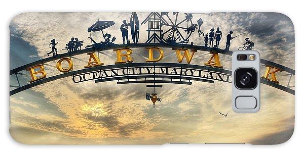 Ocean City Boardwalk Galaxy Case