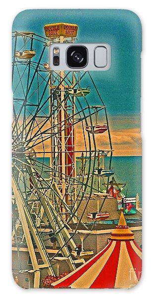 Ocean City Castaway Cove Ferris Wheel Galaxy Case