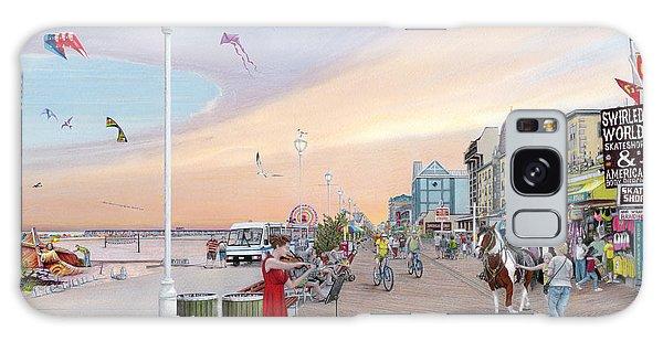Ocean City Maryland Galaxy Case by Albert Puskaric