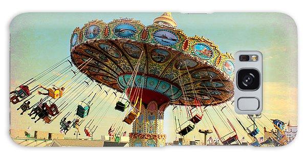 Ocean City Nj Carousel Swing Time Galaxy Case