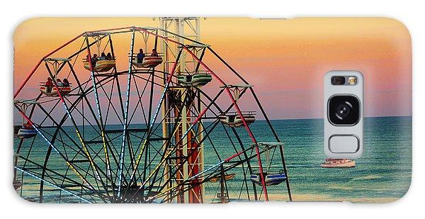 Ocean City Nj Wonder Wheel And Double Shot Galaxy Case