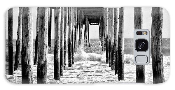 Ocean City Pier Galaxy Case