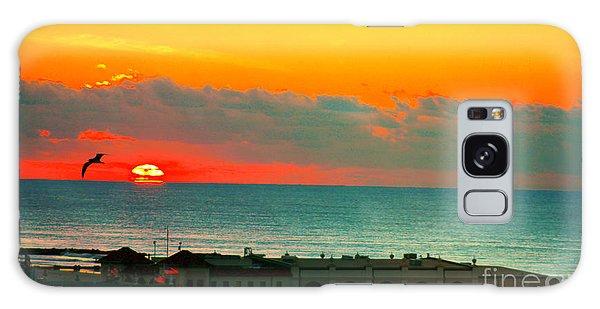 Ocean City Sunrise Over Music Pier Galaxy Case