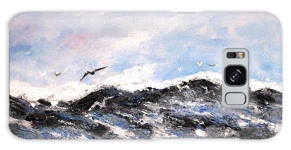 Ocean Gulls Galaxy Case