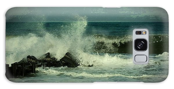 Ocean Impact - Jersey Shore Galaxy Case