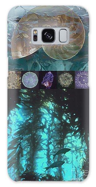 Reef Diving Galaxy Case - Ocean Kelp  by Ursula Freer