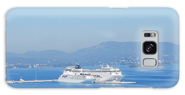 Ocean Liners In Corfu Galaxy Case