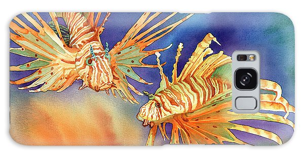 Fish Galaxy S8 Case - Ocean Lions by Tracy L Teeter