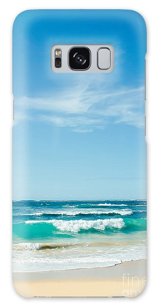 Galaxy Case featuring the photograph Ocean Of Joy by Sharon Mau