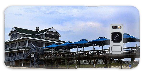 Ocean Pier And Restaurant Galaxy Case