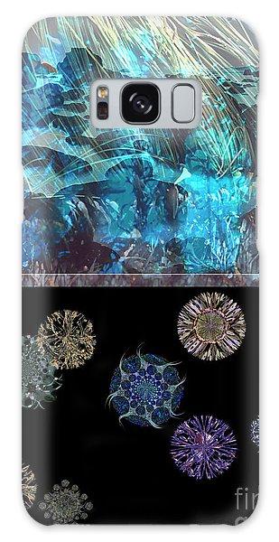 Reef Diving Galaxy Case - Ocean Plankton by Ursula Freer