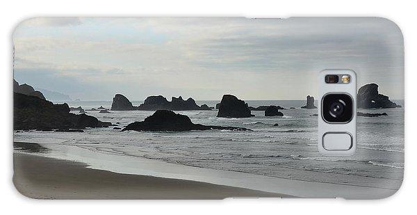 Ocean Rocks Galaxy Case