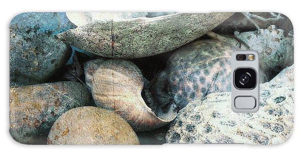 Ocean Shells Galaxy Case by Clarity Artists