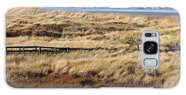 Ocean Shores Boardwalk Galaxy Case by Jeanette C Landstrom