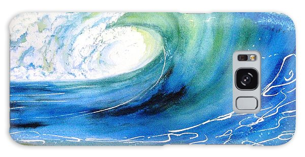 Ocean Spray Galaxy Case by Carlin Blahnik