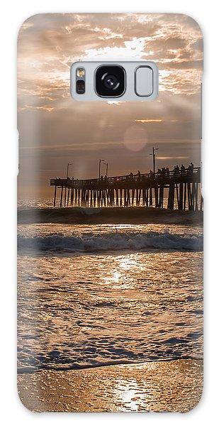 Ocean Sunrise  Galaxy Case by Dawn Romine