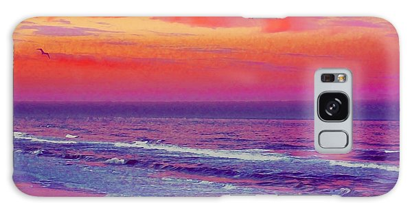 Ocean Sunset 1 Galaxy Case
