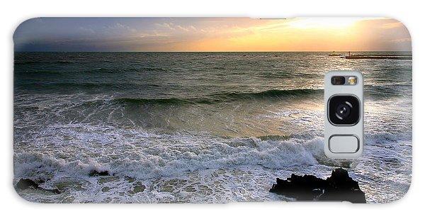 Ocean Sunset 84 Galaxy Case