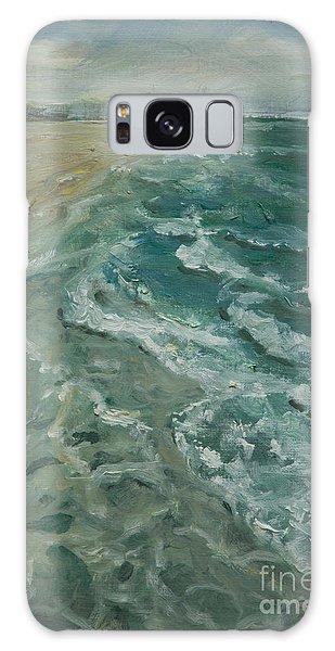 Ocean View Galaxy Case by Sally Simon