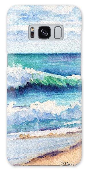 Ocean Waves Of Kauai I Galaxy Case by Marionette Taboniar