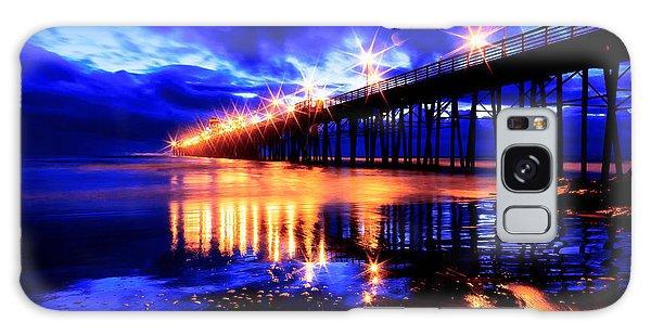 Oceanside Pier 4 Galaxy Case