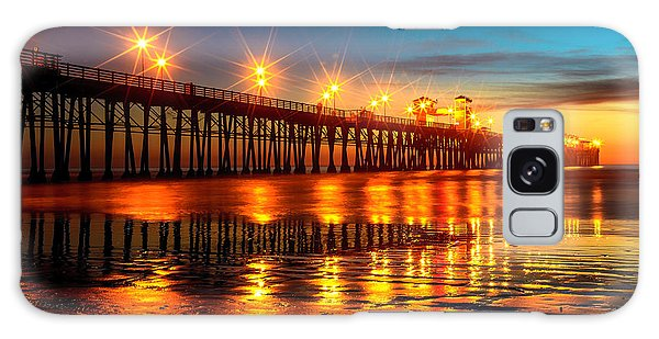 Oceanside Pier 2 Galaxy Case