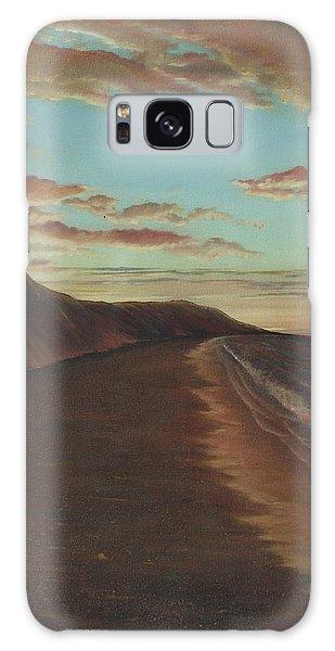 Oceanside Sunset Galaxy Case