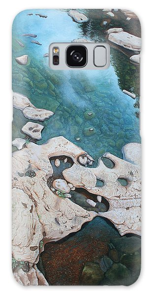 Ocoee River Low Tide Galaxy Case